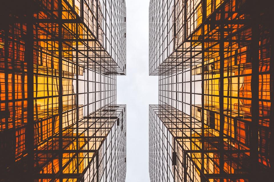 Funktionale Führung ist transparent und erlaubt den Blick in den Himmel.